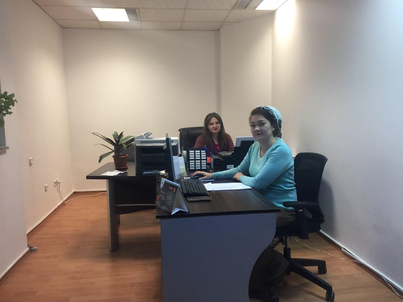 Staff in Ashkhabad